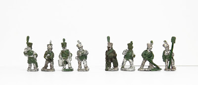 Line artillery crew x 4 / Horse artillery crew x 4:
