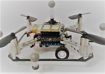 Droni multiuso disponibili: camminano e volano