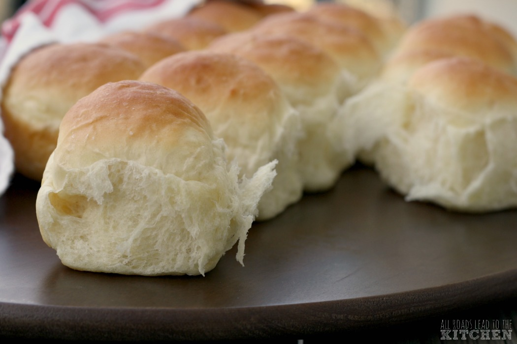Soft Pull-Apart Dinner Rolls inspired by Gilmore Girls