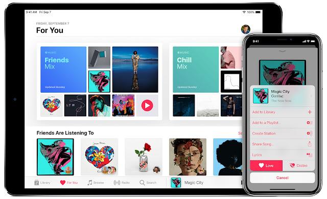 شركة أبل تتيح لمستخدمي خدمة Apple Music شهر مجاني