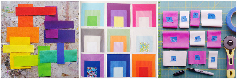 Quilt Local by Heather Jones - color stories | Red Pepper Quilts 2015