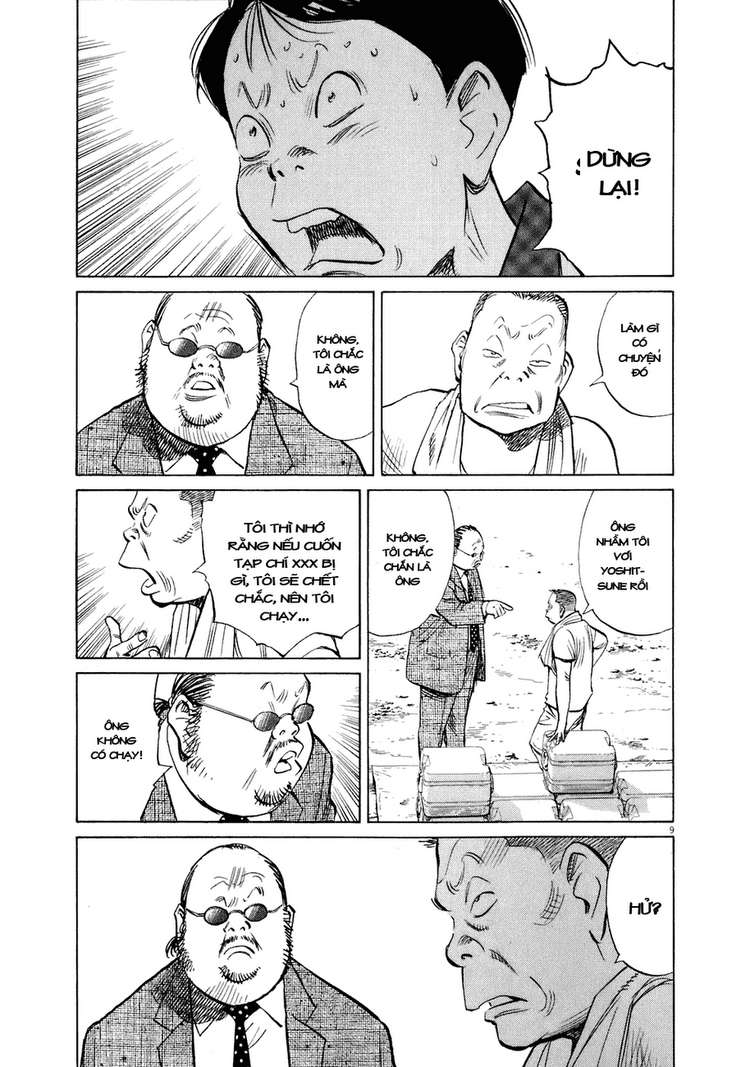 20th Century Boys chapter 234 trang 19