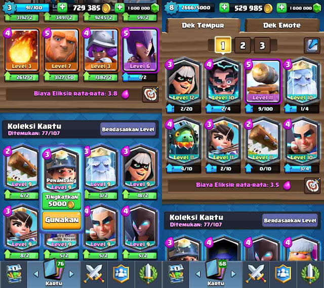 cheat clash royale unlimited gems