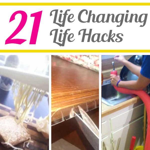 DIY Home Sweet Home: 21 Life Changing Hacks