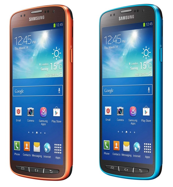 Best Smart Phones  The All New Samsung Galaxy S4 Active Smartphone