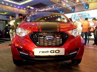 2016 Datsun redi-GO Sport Limited Edition front Headlight