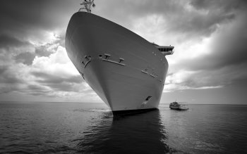 Wallpaper: Water. Ocean. Sea. Ship. Boats