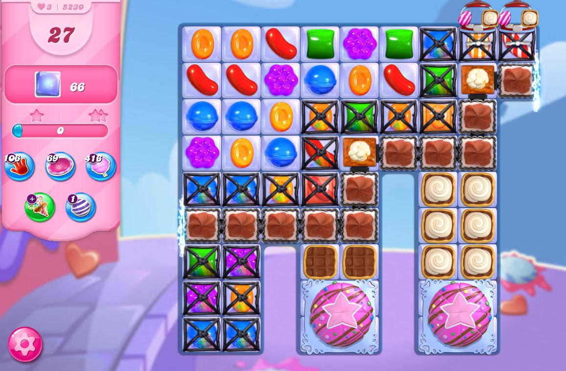 Candy Crush Saga level 5230