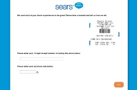 Sears Feedback Survey