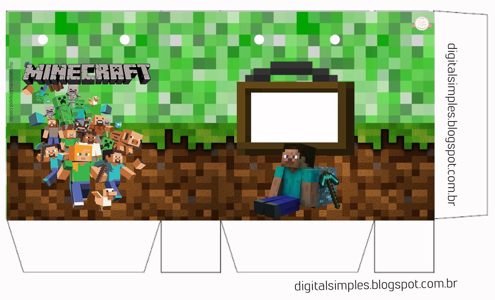 Rotulo Bis Minecraft
