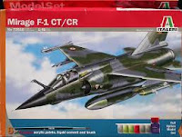Italeri Mirage F1 CT 1/48.