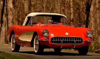 1956 Chevrolet Corvette Dual Quad Convertible Front
