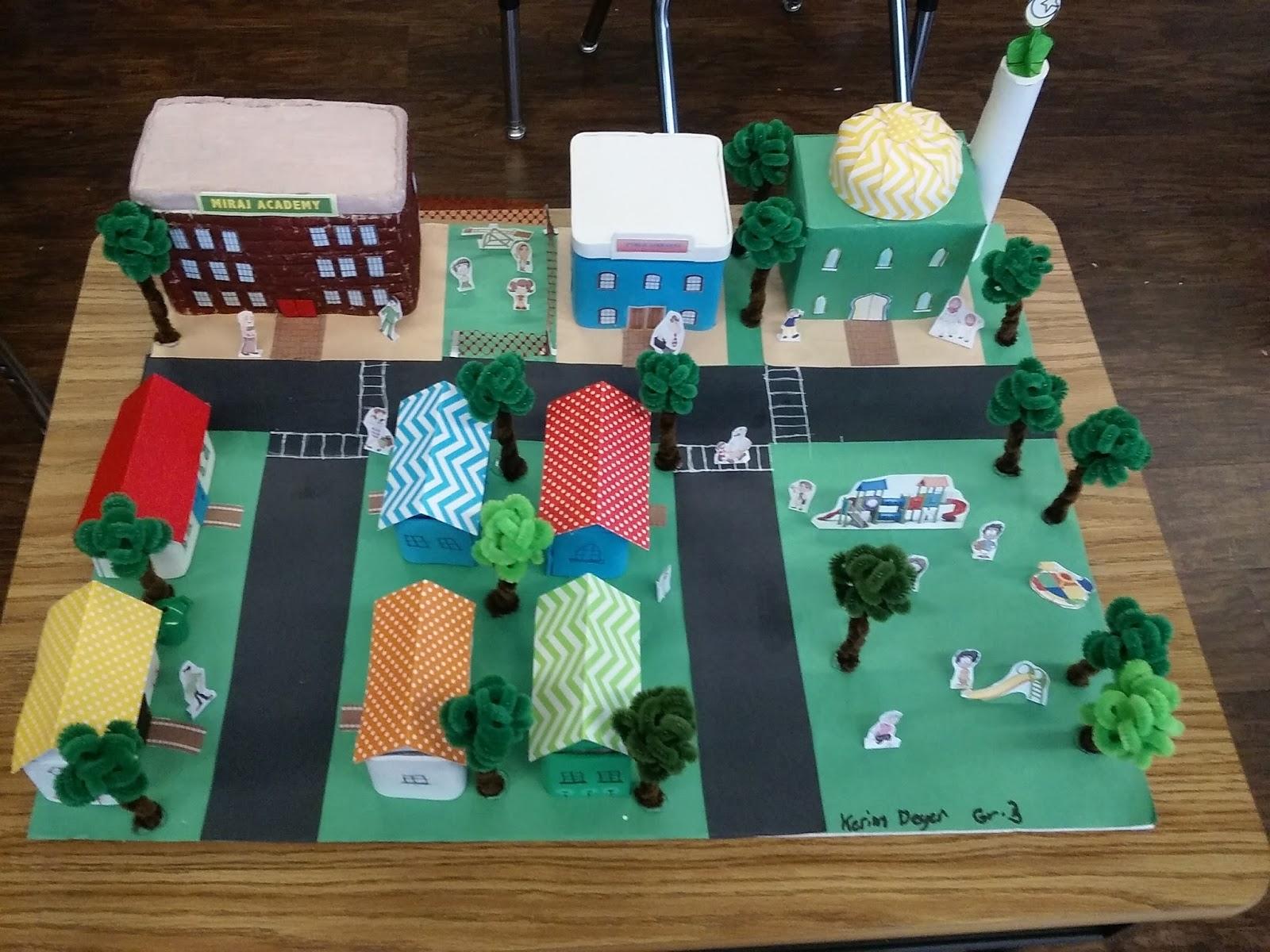 Kids Diorama With Details: 3rd Grade With Sr. Sabrina :) : Social Studies Community