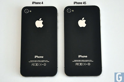 difference between iphone4 and 4s
