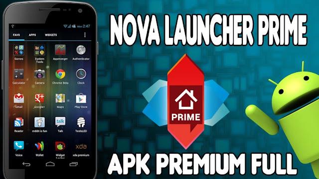 Nova Launcher Prime 4.3.1 Full APK Gratis Terbaru