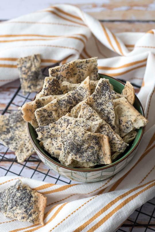 recette Crackers maison apéritif