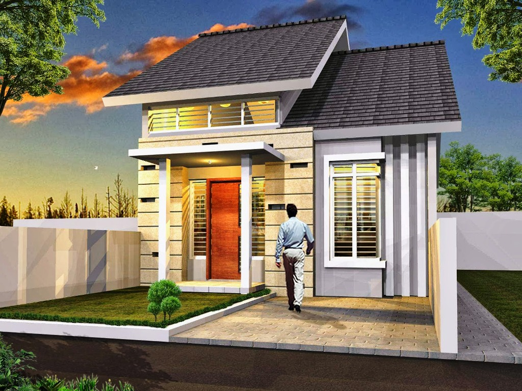 Desain  Rumah  Minimalis  Satu Lantai Untuk Lahan Minim