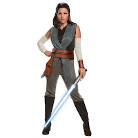 COSTUM STAR WARS REY ULTIMUL JEDI