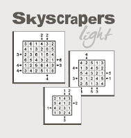 Online Skyscrapers Puzzles