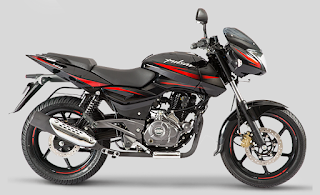 Bajaj Pulsar 180 Laser Black color
