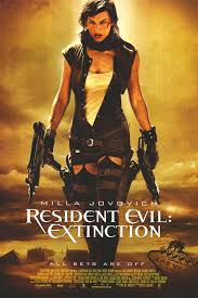 Resident Evil 3 Extinction 2007 movie Poster