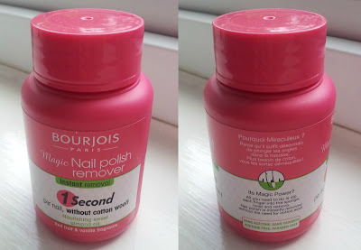 Bourjois, nail varnish remover, nail polish remover