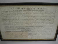 Civil War Antique Land Grant