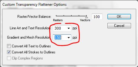 как уменьшить размер епс файла