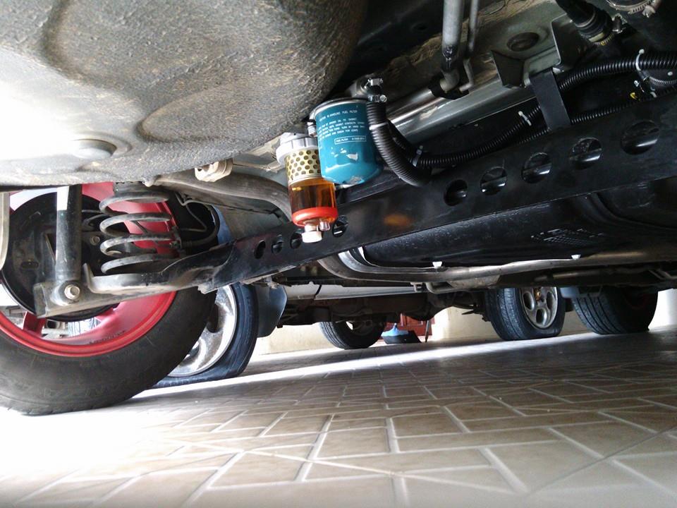 Pasang Filter Sedimen Air Di Chevrolet Spin Diesel Untuk Mempernjang