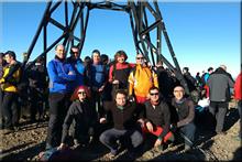 Gorbeia mendiaren gailurra 1.482 m. -- 2016ko abenduaren 31an