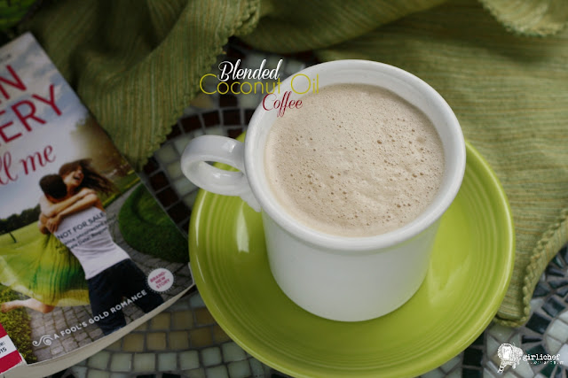 Blended Coconut Oil Coffee inspired by Thrill Me