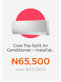 Gree Split Air Conditioner + Free Installation inclusive