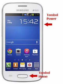 Cara Screenshoot atau screenshoot capture di Samsung