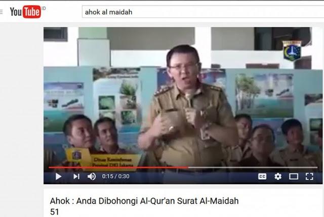 Statemen Ahok menurut Ahli Bahasa Arab: Ahok Menghina Al-Quran, Agama Islam, dan Umat Islam