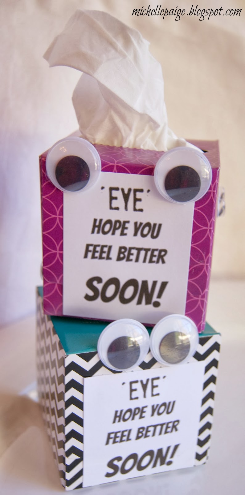 Cute feel better gifts