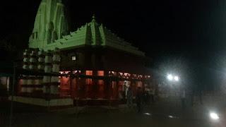 Night view of Swayambhu Ganesh Temple