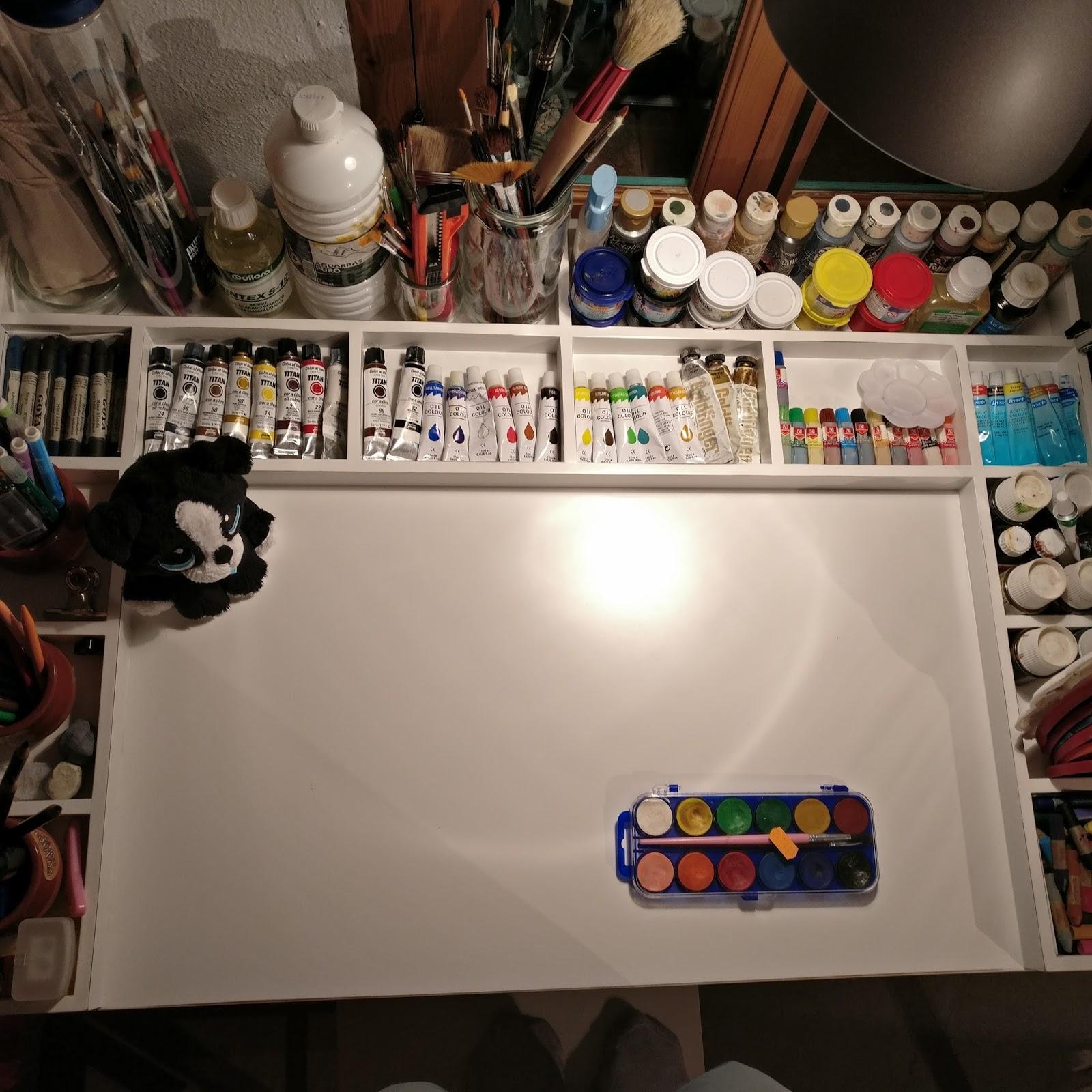 EL RINCON DEL MUEBLE Mueble para organizar pinturas