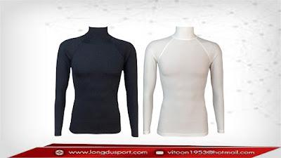เสื้อรัดกล้ามเนื้อแขนยาว,เสื้อรัดรูป,Bodyfit,Baselayer