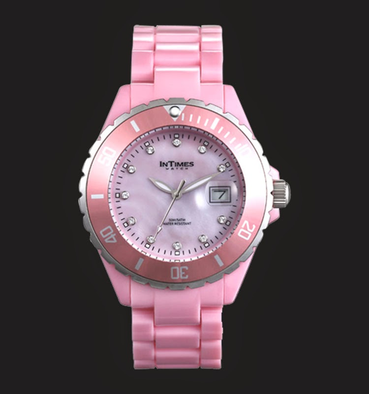 Intimes Wanita IT063-PK Swarovski Crystal
