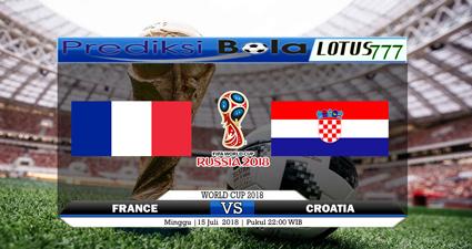 Pemain Prancis vs Kroasia Final Piala Dunia 2018   Artikel ini telah tayang di banjarmasinpost.co.id dengan judul Bursa Prediksi, Head to Head, Susunan Pemain Prancis vs Kroasia Final Piala Dunia 2018 Live Trans TV, http://banjarmasin.tribunnews.com/2018/07/12/bursa-prediksi-head-to-head-susunan-pemain-prancis-vs-kroasia-final-piala-dunia-2018-live-trans-tv.  Editor: Murhan