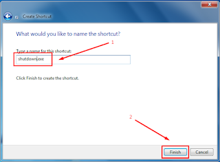 Cara Membuat Shortcut Shutdown pada Windows