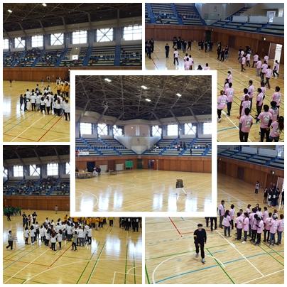 Acara Undoukai di Yamato Taiikukan Maebashia