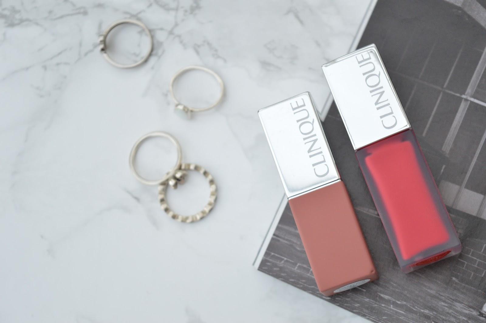 Clinique Pop Matte Lipstick and Liquid Matte Lip Colour