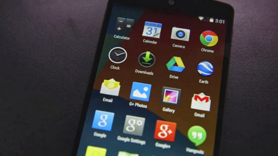 Nexus 5 and Android 4.4 Kitkat on Youtube published