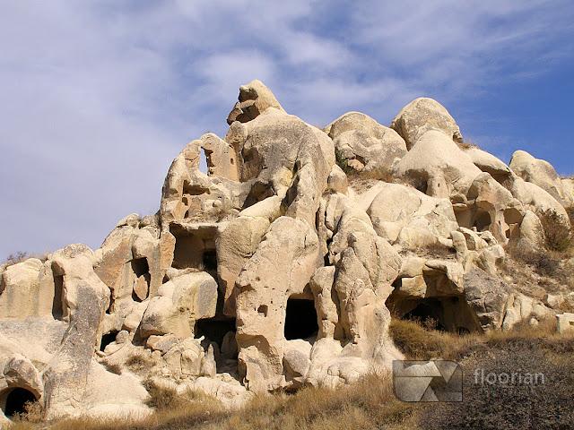 Najważniejsze atrakcje turystyczne Turcji - Dolina Göreme to jedna z największych atrakcji turystycznych w Kapadocji w Turcji.