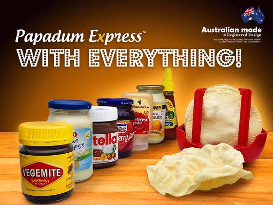 Vegemite-Kraft-Cheese-Nutella-Strawberry-Jam-Cottees-Nandos-Perinaise-Thomy-mayonnaise-Capilano-Honey-Pure-Bee-papad-how-microwave-papadum-express-frying-pan-microwave-can-you-cook-sharwoods-puppo