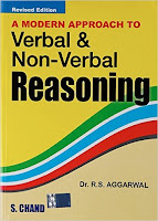 A Modern Approach to Verbal & Non-Verbal Reasoning by RS Aggarwal: Best IBPS books