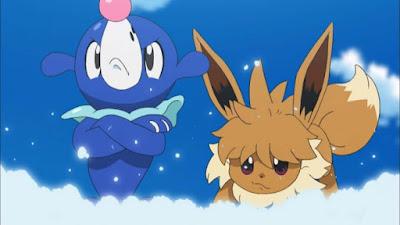 Pokemon Sol y Luna Capitulo 99 Temporada 20 ¿A dónde va Eevee? A cualquier lado para encontrase con esa persona