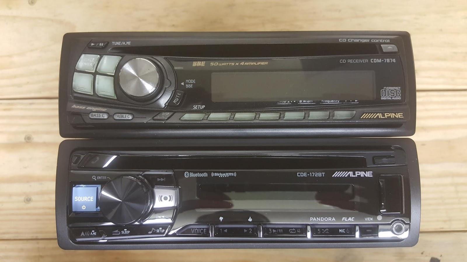1967 Mustang Restoration: New Alpine CDE-172BT Stereo Install