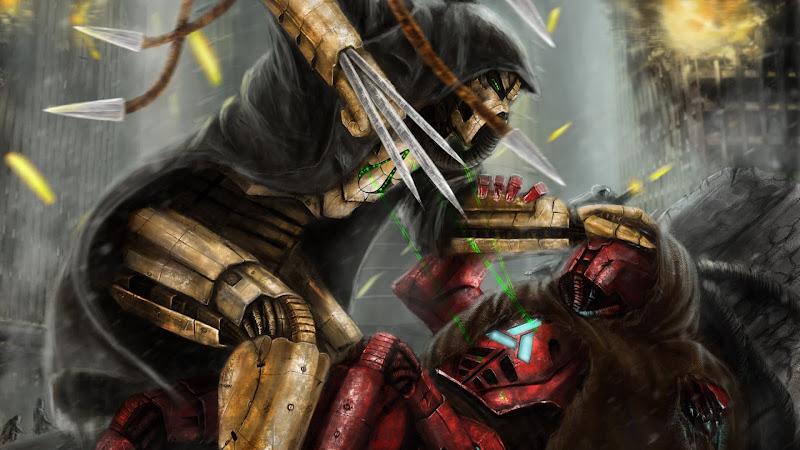 Warriors from Mortal Kombat: Cyrax vs. Sektor HD